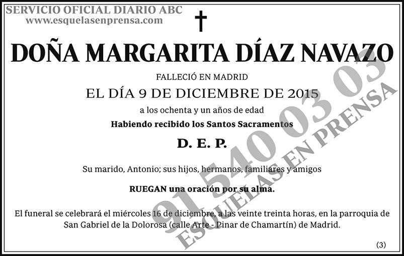 Margarita Díaz Navazo